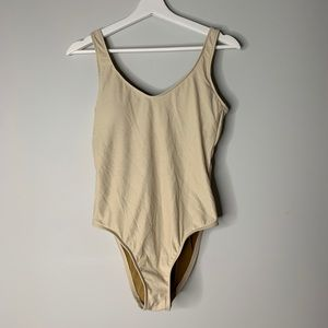 Shimmer One Piece with Open Back